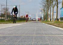 Zonne-energie opwekken op het fietspad