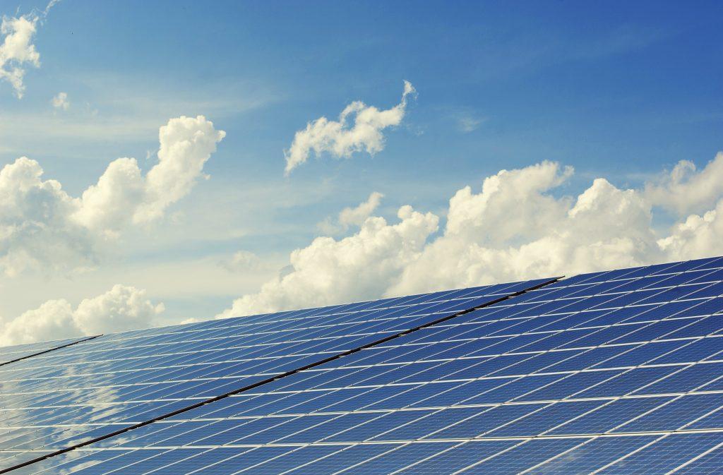 Hernieuwbare energie met zonnepanelen