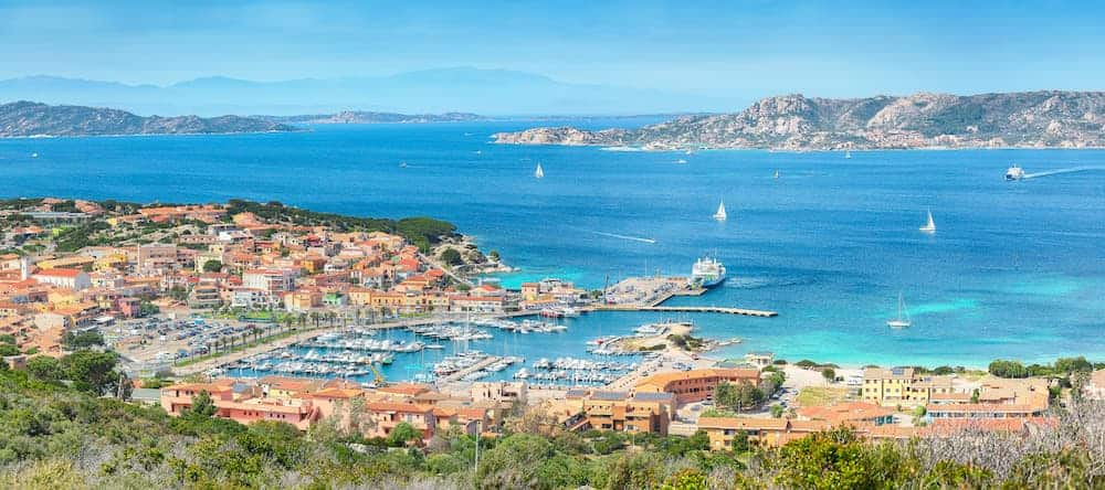 fantastic view on palau port and la maddalena isla TXSETD7 1