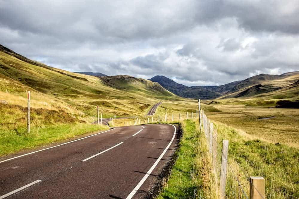 road in scotland PJS3TQD 2